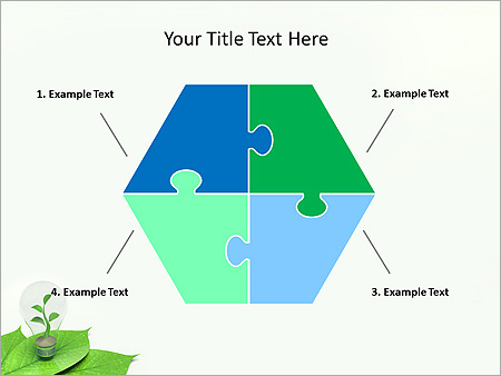 Green Idea Animated PowerPoint Template - Slide 11