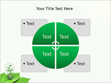 Green Idea Animated PowerPoint Template - Slide 14