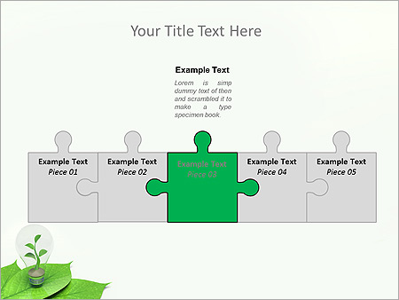 Green Idea Animated PowerPoint Template - Slide 19