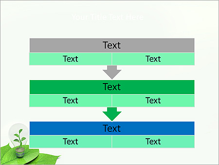Green Idea Animated PowerPoint Template - Slide 23