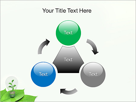 Green Idea Animated PowerPoint Template - Slide 5