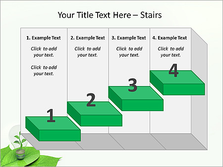 Green Idea Animated PowerPoint Template - Slide 7