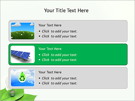 Green Idea Animated PowerPoint Template - Slide 8