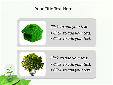Green Idea Animated PowerPoint Template - Slide 9