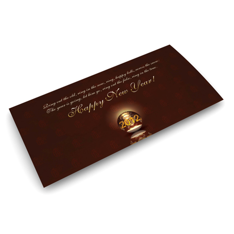 Carte de bonne année Cartes de Noël
