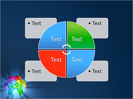 Colorful Teamwork Animated PowerPoint Template - Slide 14