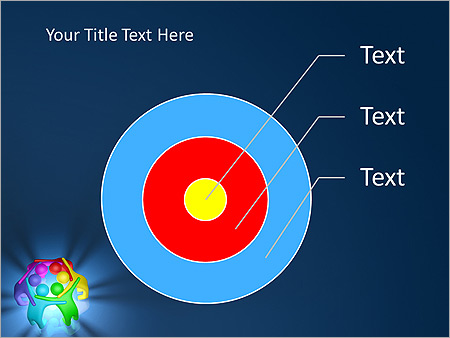 Colorful Teamwork Animated PowerPoint Template - Slide 17