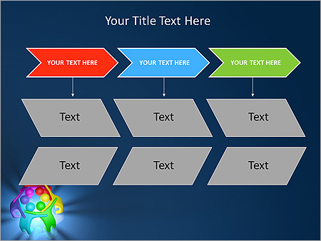 Colorful Teamwork Animated PowerPoint Template - Slide 25