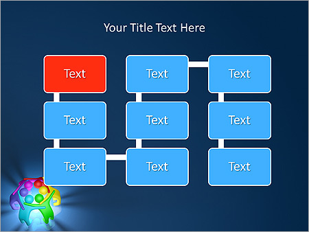 Colorful Teamwork Animated PowerPoint Template - Slide 26
