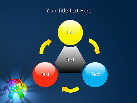 Colorful Teamwork Animated PowerPoint Template - Slide 5