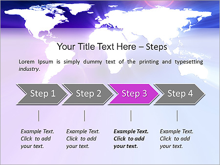 Earth Animated PowerPoint Template - Slide 3
