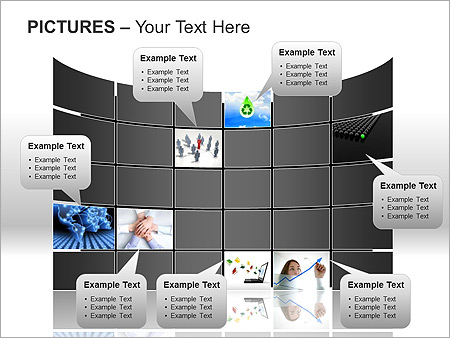 Pictures On Light PPT Diagrams & Chart - Slide 10