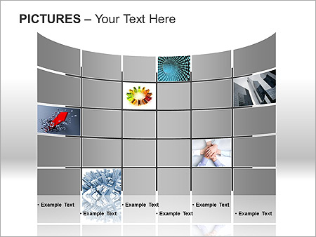 Pictures On Light PPT Diagrams & Chart - Slide 11
