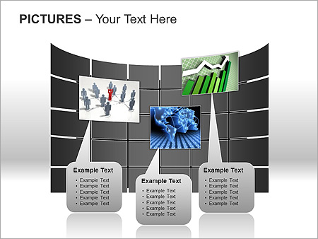Pictures On Light PPT Diagrams & Chart - Slide 9
