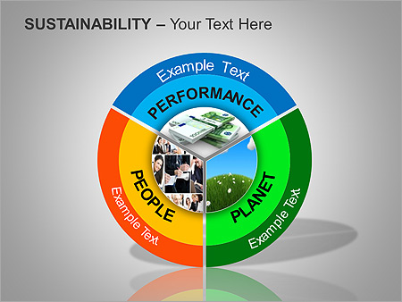 Sustainability PPT Diagrams & Chart - Slide 12