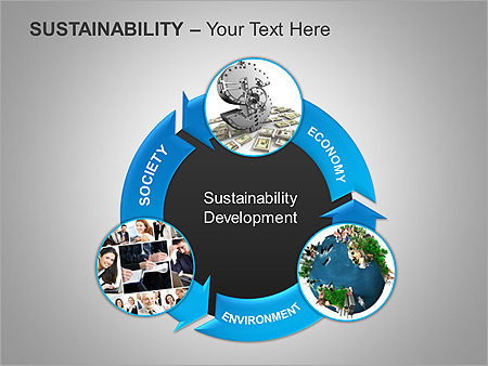 Sustainability PPT Diagrams & Chart - Slide 13