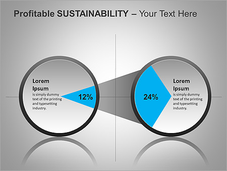 Sustainability PPT Diagrams & Chart - Slide 17