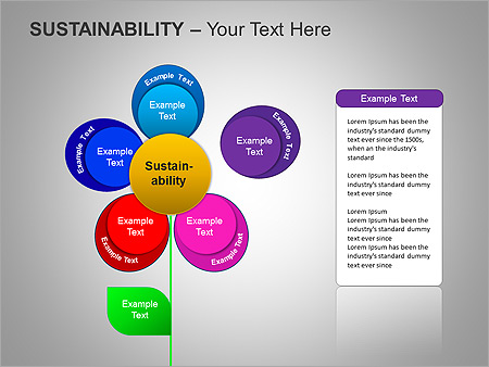 Sustainability PPT Diagrams & Chart - Slide 21