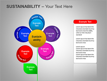 Sustainability PPT Diagrams & Chart - Slide 23