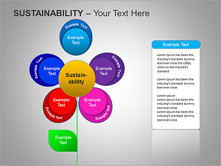 Sustainability PPT Diagrams & Chart - Slide 25