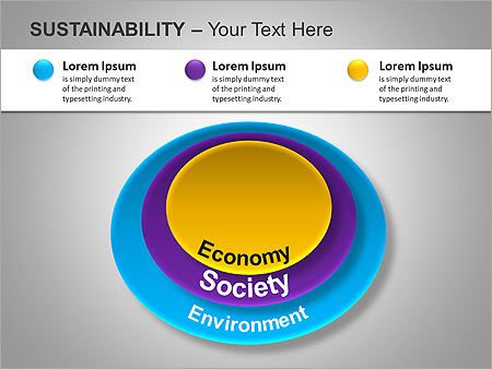 Sustainability PPT Diagrams & Chart - Slide 6