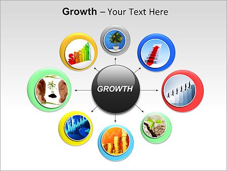 发展 PowerPoint间图和图表 - 滑 7