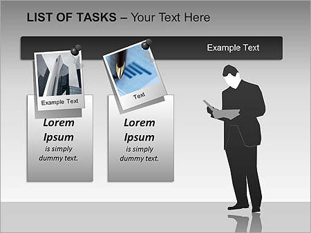 List Of Tasks PPT Diagrams & Chart - Slide 10