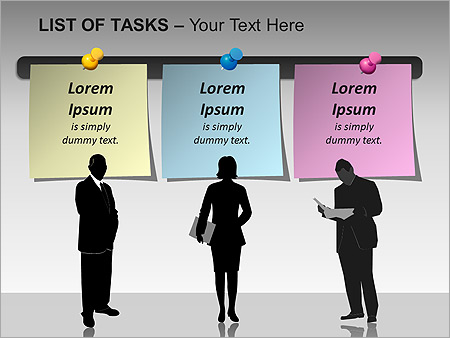 List Of Tasks PPT Diagrams & Chart - Slide 11