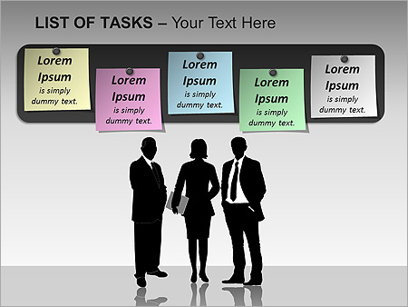 List Of Tasks PPT Diagrams & Chart - Slide 12