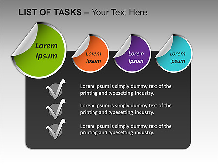 List Of Tasks PPT Diagrams & Chart - Slide 14