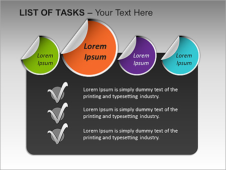 List Of Tasks PPT Diagrams & Chart - Slide 15