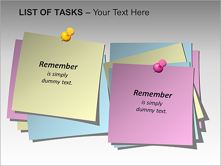 List Of Tasks PPT Diagrams & Chart - Slide 2