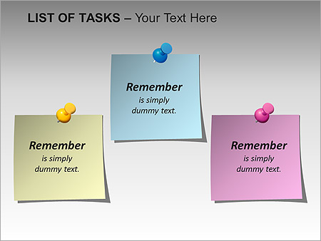 List Of Tasks PPT Diagrams & Chart - Slide 3