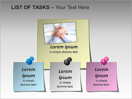 List Of Tasks PPT Diagrams & Chart - Slide 4