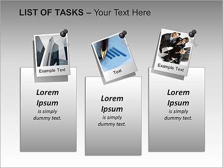 List Of Tasks PPT Diagrams & Chart - Slide 7