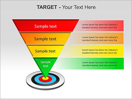 Target PPT Diagrams & Chart - Slide 18