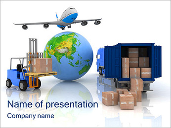 Logistics PowerPoint Templates & Backgrounds, Google Slides Themes