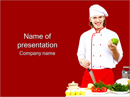 Chef Master Class PowerPoint Template & Infographics Slides