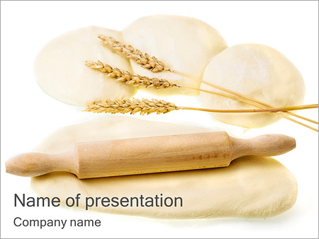 Wheat Dough PowerPoint Template & Infographics Slides