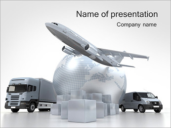 Logistics PowerPoint Templates & Backgrounds, Google Slides