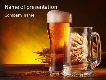 Вкус пива Шаблоны презентаций PowerPoint