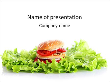 Delicious Sandwich PowerPoint Template