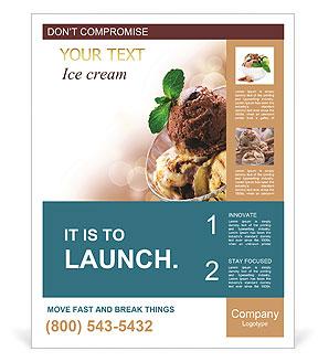 Delicious Ice Cream Poster Template
