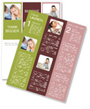 Quarreling Couple Newsletter Template