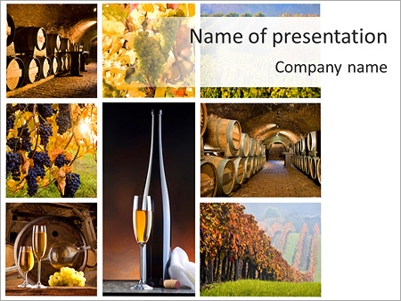 Best Quality Wine PowerPoint Template