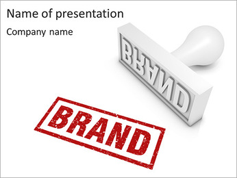 Brand Stamp PowerPoint Template