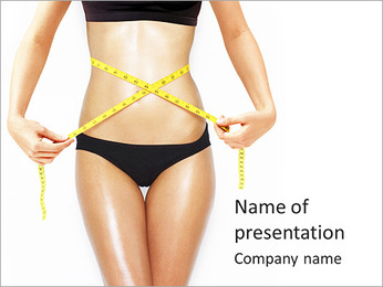 Perfect Body Shape PowerPoint Template