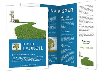 Eco Path Brochure Template