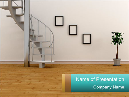 Modern Stairs PowerPoint Template