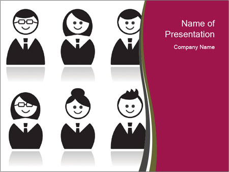 Business Avatars PowerPoint Template